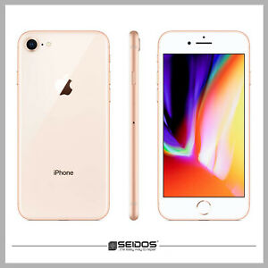 APPLE-IPHONE-8-64GB-GOLD-OHNE-VERTRAG-TOP-HANDY-SMARTPHONE-WIE-NEU