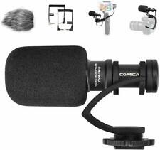 Comica CVM-VM10II Mini Shotgun Microphone for DSLR Camera Camcorder Smartphone