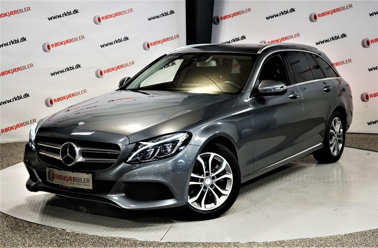 Mercedes C220 d 2,2 Avantgarde stc. aut. 5d - 324.900 kr.