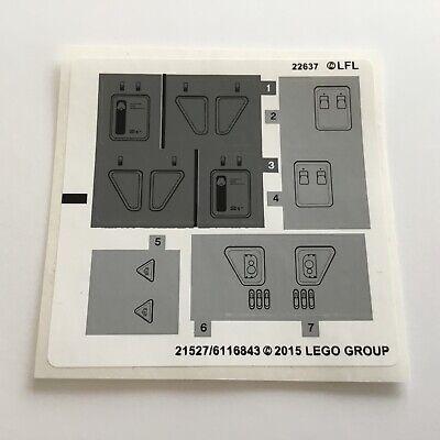 Lego® Star Wars 1x Sticker//Aufkleber Bogen für Set  75019 Neu