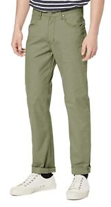 Wrangler Arizona Mens Straight Leg Stretch V6 Chinos Jeans Navy Blue Soft Fabric
