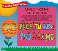 Marlo Thomas And Friends Cd - Free To Be You And Me (2006) - Unopened