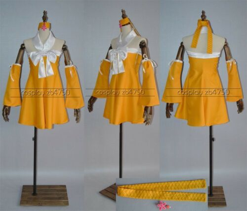 Fairy Tail Levy Mcgarden Cosplay Costume Any Size
