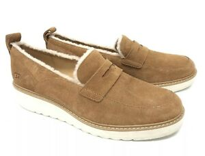 03d2dec8cc2 Image is loading Ugg-Australia-Atwater-Spill-Seam-Loafer-1095231-Chestnut-