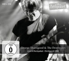 GEORGE THOROGOOD New Sealed 2017 LIVE 1980 CONCERT DVD & 2 CD BOXSET