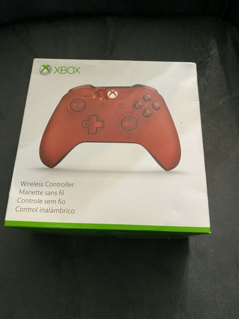 Official Microsoft Bluetooth Wireless Controller Xbox One & Windows 10 Red  1708