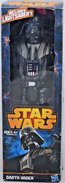 Star Wars DARTH VADER w/ Lightsaber 12 inch Action Figure Hasbro New in Box