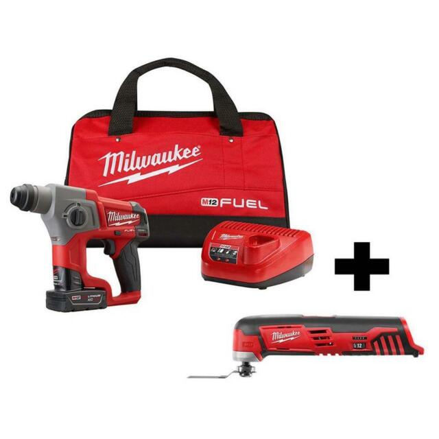 Cordless Rotary Hammer Drill 5//8in SDS Plus 18V Lithium Ion Bare Tool Drilling