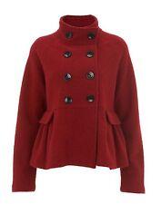 HAVREN Red Wool Peplum Jacket rrp 150
