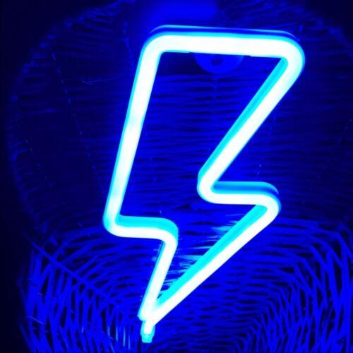 LED Neon Sign Fairy Night Light Home Bedroom Wall Bar Christmas Decor Gift Lamp