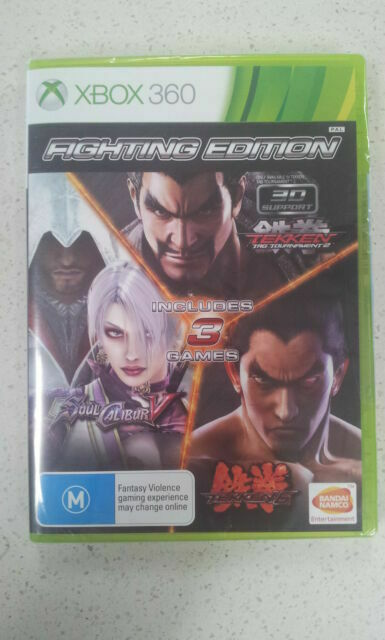 Xbox 360 Fighting Edition Tekken 6 Tekken Tag Soul Calibur V 5 For Sale Online Ebay