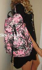 Victoria's Secret PINK Leopard  Backpack Cheetah Animal Book Bag FULL SIZE +GIFT