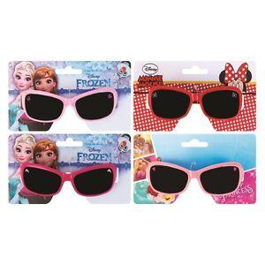 Girls-Childrens-Sunglasses-Disney-Princess-Minnie-Mouse-Frozen-UV-PROTECTION