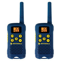 Motorola 2 Way 16 Mile Range 22 Channel Hiking Walkie Talkie Radios W/ Belt Clip on sale