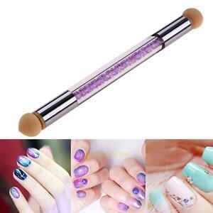 Dual Ended Uv Gel Painting Nail Gradient Brush Nail Art Sponge Pen