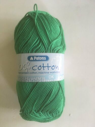 Patons 100/% Cotton D K  knitting yarn