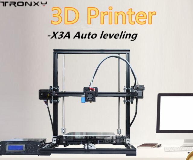 Tronxy X3a DIY 3d Printer Kit High Precision Aluminium Frame Auto ...