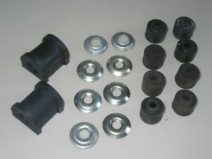 ROVER-P4-P5-P5B-ANTI-ROLL-BAR-SUBFRAME-BUSH-RUBBERS-amp-WASHERS-COMPLETE-SET