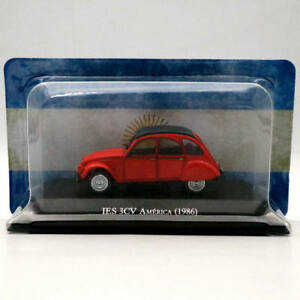IXO-Altaya-1-43-Citroen-IES-3CV-America-1986-Diecast-Toys-Models-Limited-Edition