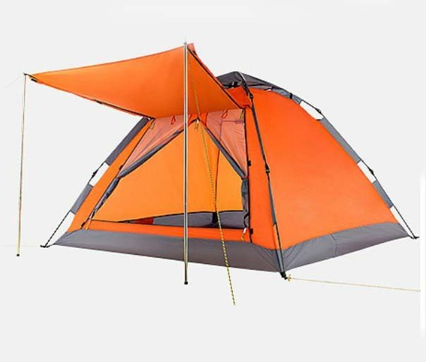 arancia 3-4 Persons POP UP 1'S Outdoor Waterproof Beach Camping Hiking Tent
