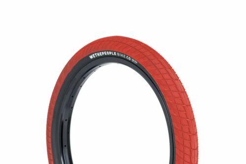 Black 20 X 2.35 Inch Wethepeople Overbite Bicycle Cycle Bike Tyre Red