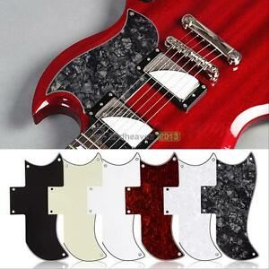 Scratch Plate Pick Guard for Gibson SG Standard Style Electric Guitars 6 Colors
