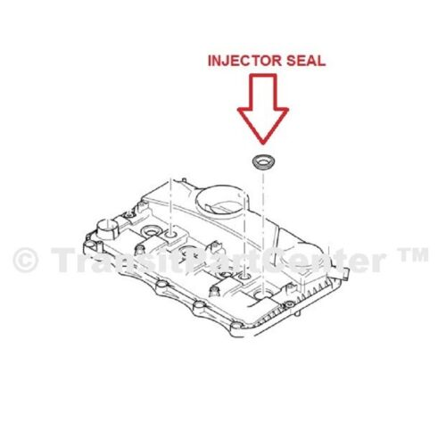 SET OF 4 FUEL INJECTOR SEAL CITROEN RELAY FIAT DUCATO PEUGEOT BOXER 2.2 2006 ON