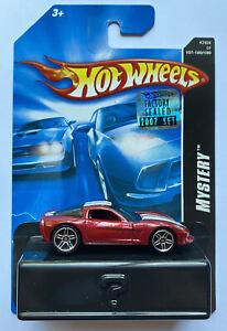 2007 HOTWHEELS Chevy Corvette C6 MISTERO auto, Nuovo di zecca! molto rara!