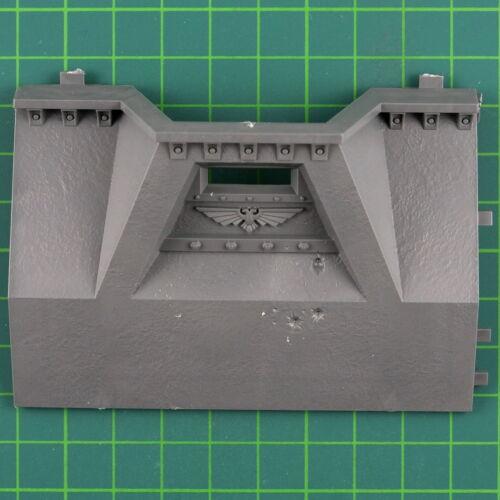 Impériales Bastion inférieur mur segment A WARHAMMER 40k terrain Bitz bits 5141