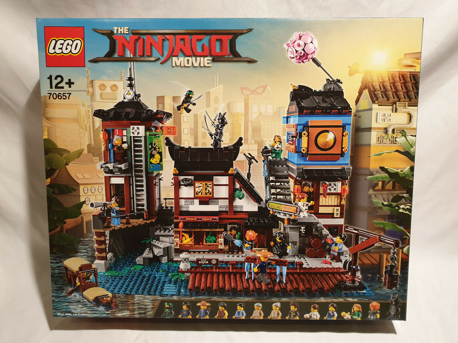 LEGO 70657 NINJAGO Les quais de la ville NINJAGO® NEUF et SCELLE