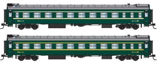 With interior lights N27 China Railway RW25B Soft Sleeper Passenger Car