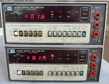 Hewlett Packard Hp 3438a Digital Multimeter 35 Digits Powers On