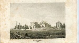 Engraved-Antiguo-Battle-Abbey-Sussex-1812-By-White