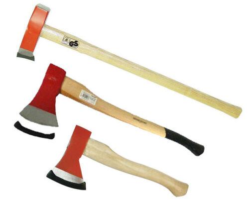 3000 g Spalthammer 1250 Axtset Beil Spaltaxt Axt mit Hickory Stiel 600