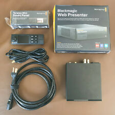 Blackmagic Design Web Presenter Bdlkwebptr B For Sale Online Ebay
