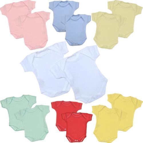 BabyPrem Frühchen 2 Packung mit Baby-Kleidung Bodies Strampelanzüge 0-3,4KG