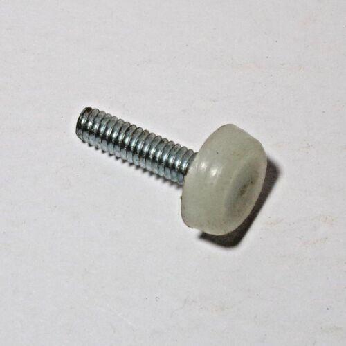 "Vintage adjustable furniture desk leg tips Nylon leg feet 1//4/"" X20 SAE 1/"" bolt"