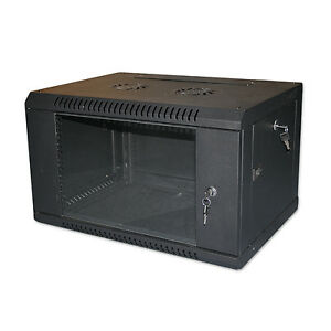 4U-19-034-BLACK-NETWORK-CABINET-DATA-COMMS-WALL-RACK-FLAT-PACKED-600x300mm
