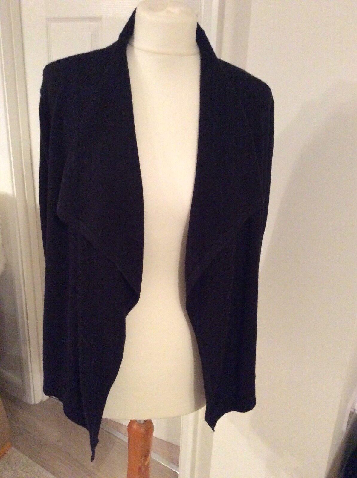 Ralph Lauren entièreHommest neuf sans étiquette noir veste voituredigan taille XS (UK6, 8) Véritable Qualité Cadeau