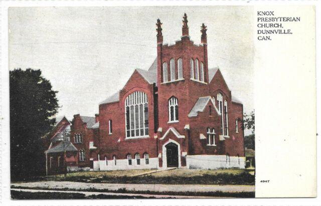 Haldimand County DUNNVILLE, ONTARIO Knox Presbyterian Church Pub. Warwick Bros.