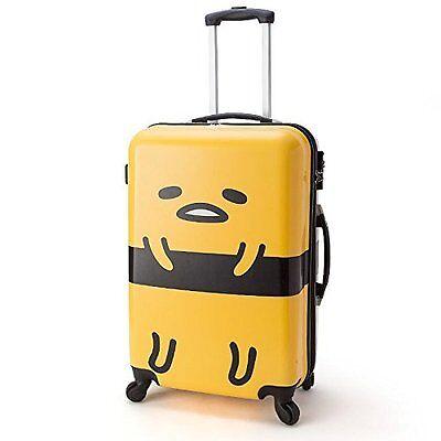 Sanrio Gudetama Carry Case L 40x62x26cm 516317 Suitcase Travel Bag Japan