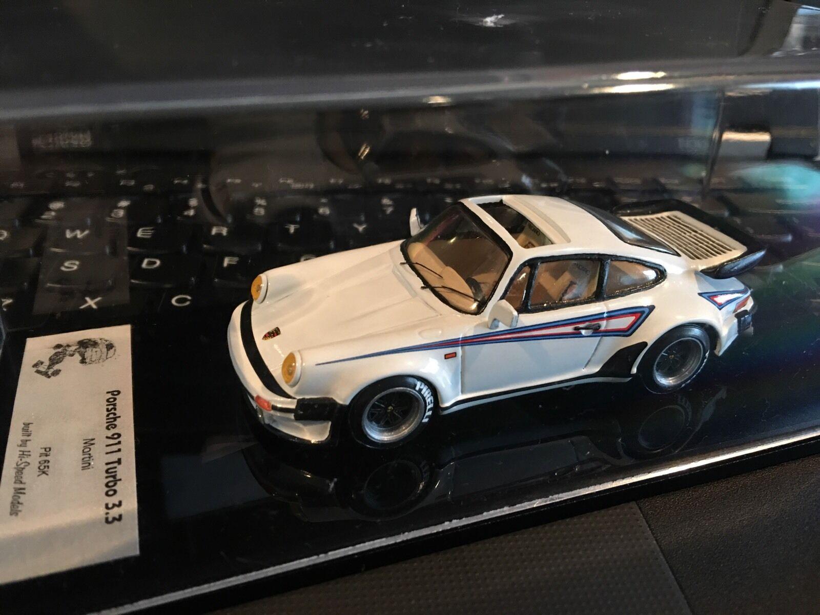 1 43 AMR type PORSCHE 911 TURBO 3.3 MARTINI LE n BBR LOOKSMART-RARE