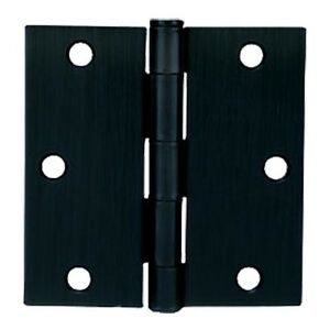 Charmant Image Is Loading Cosmas Matte Black Door Hinges 3 5 Inch