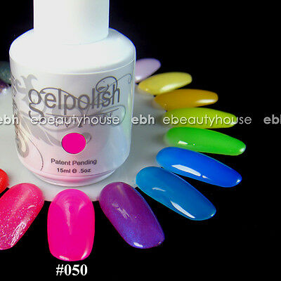 15 ml Nail Art Soak Off Color UV Gel Polish UV Lamp #050