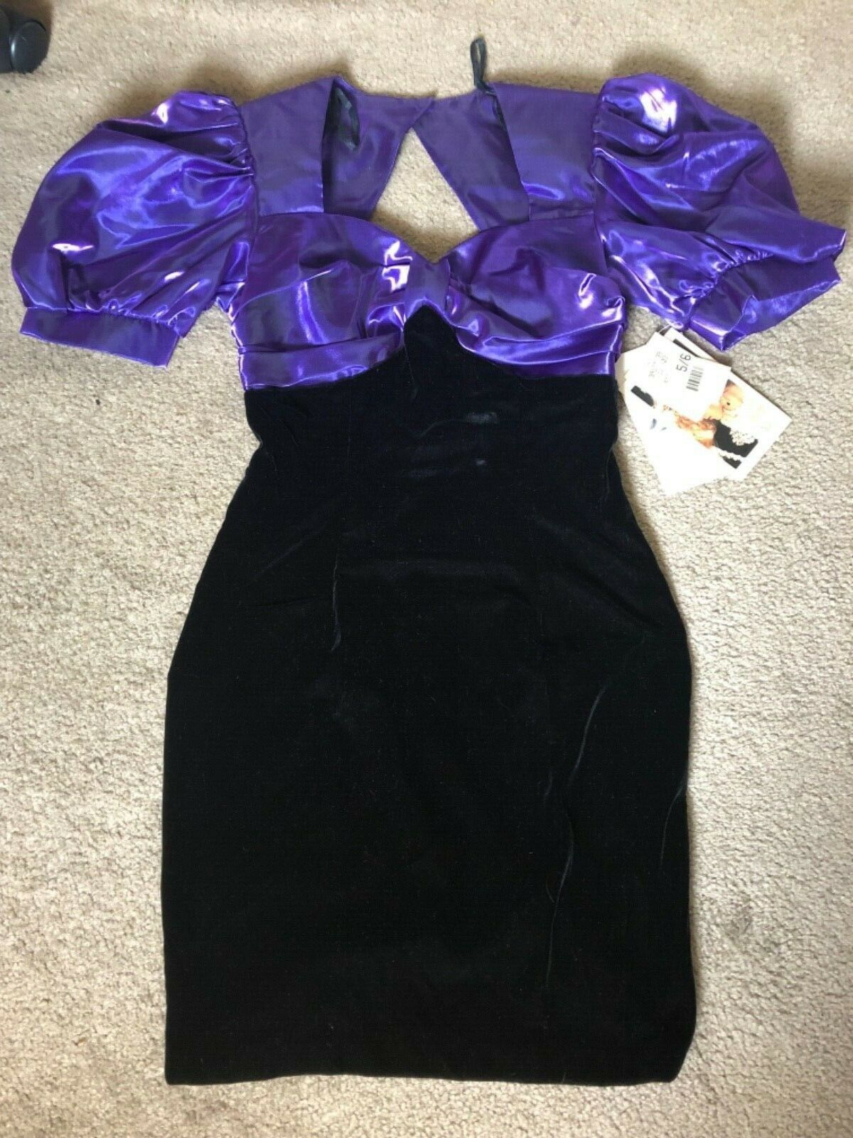 Vintage 1980s Deadstock Jessica McClintock Dress  - image 1