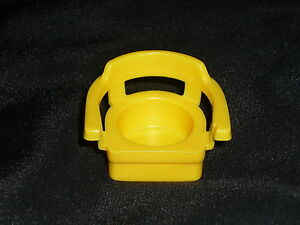 Fisher-Price-Little-People-Vintage-Yellow-Replacement-CHAIR
