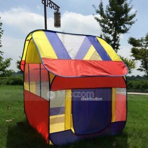 Image is loading Ultra-Large-kids-tent-playhouse-children-039-s- & Ultra Large kids tent playhouse childrenu0027s pop up play tent house ...