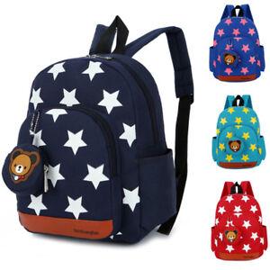 Boys Girls Character Backpack Kids School Lunch Book Bag Travel Nursery Rucksack