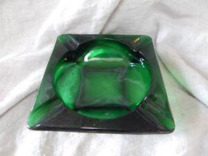 Emerald Green Ashtray