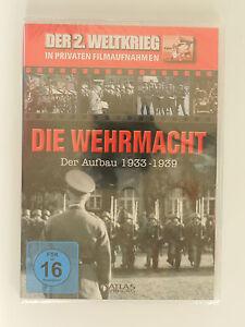 DVD-Die-Wehrmacht-Der-Aufbau-1933-1939-Neu-originalverpackt